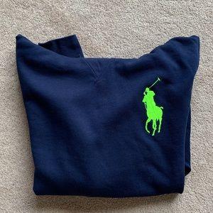 Polo navy sweatshirt